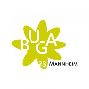 Logo Bundesgartenschau Mannheim 2023
