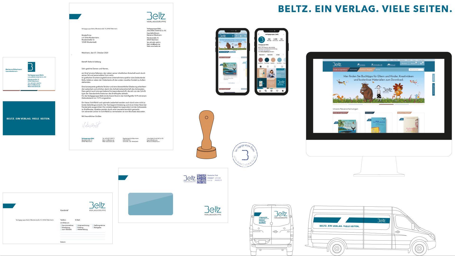 Übersicht Geschäftspapiere Verlagsgruppe Beltz