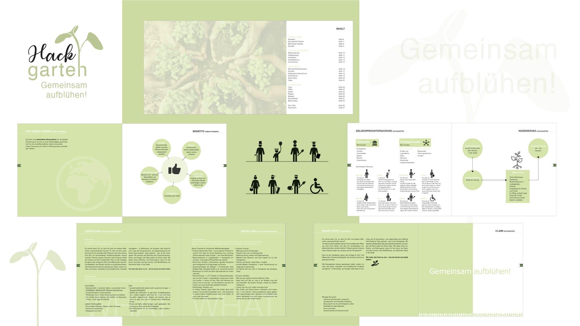 Brand Booklet Wilhelmhackgarten